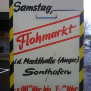 Flohmarkt der freiwilligen Feuerwehr Sonthofen @ vor und in der Markthalle Sonthofen   Sonthofen   Bayern   Germany