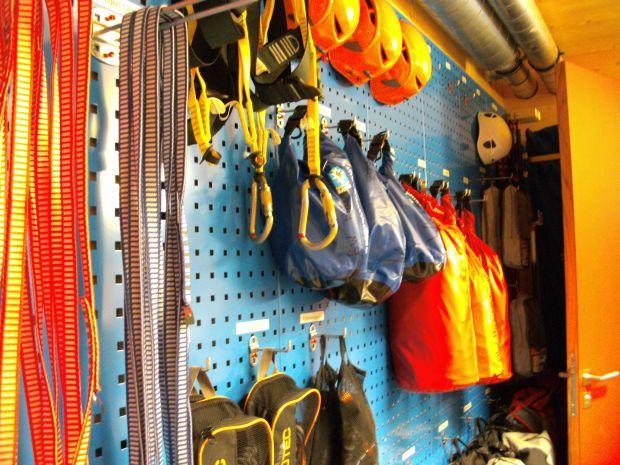 Rettungsgerät - Bergwacht