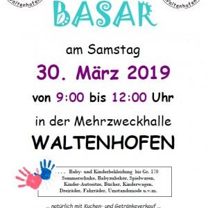 """Frühjahr- /Sommerbasar """"Rund ums Kind"""" in Waltenhofen @ Mehrzweckhalle in Waltenhofen"""